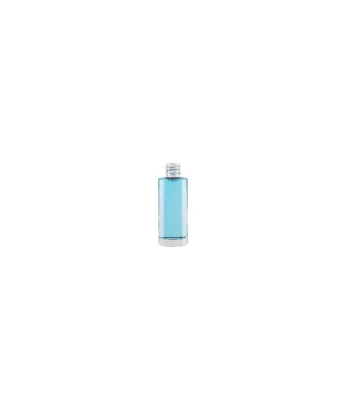 Caja Frasco cristal perfume REDONDO 30ml.
