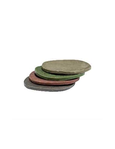 Jabón sólido artesanal Árbol de té y Aloe-Vera. Efecto mascarilla. (4 Unidades)