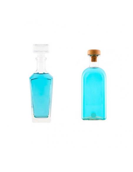 Bouteille vide de parfums